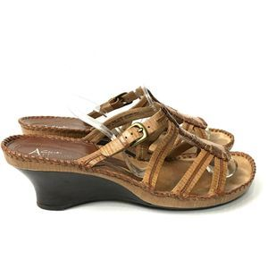 Clarks Artisan Collection Wedge Sandals Strappy